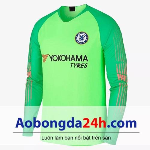 Áo thủ môn Chelsea 2018 - 2019 màu xanh lá