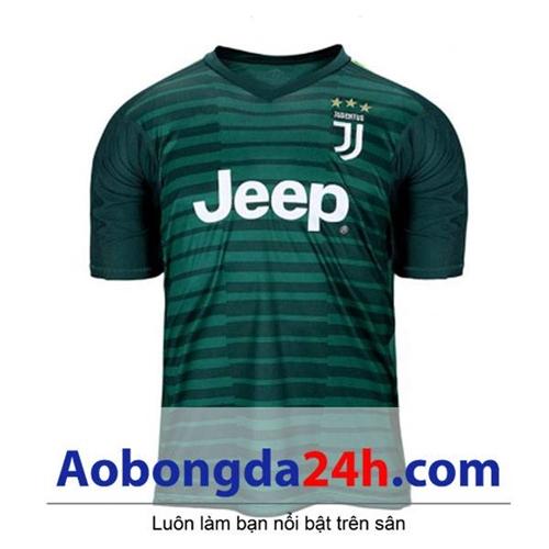 Áo thủ môn Juventus 2018-2019 xanh
