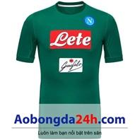 Áo thủ môn câu lạc bộ Napoli màu xanh