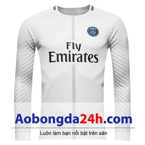 Áo thủ môn Paris Saint Germain 2017-2018 màu trắng