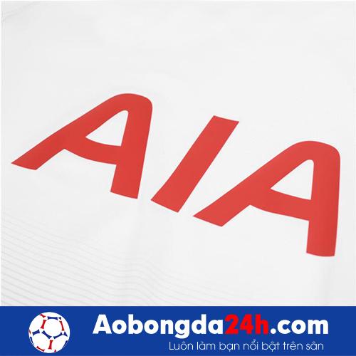 Áo Tottenham 2018-2019 Sân nhà màu trắng