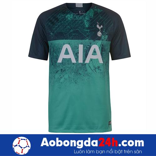 Áo Tottenham 2018-2019 mẫu thứ 3 màu xanh rêu