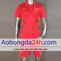 Áo Việt Nam 2017 - 2018 sân nhà màu đỏ
