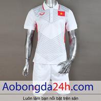 Áo bóng đá Việt Nam 2017 - 2018 sân khách màu trắng