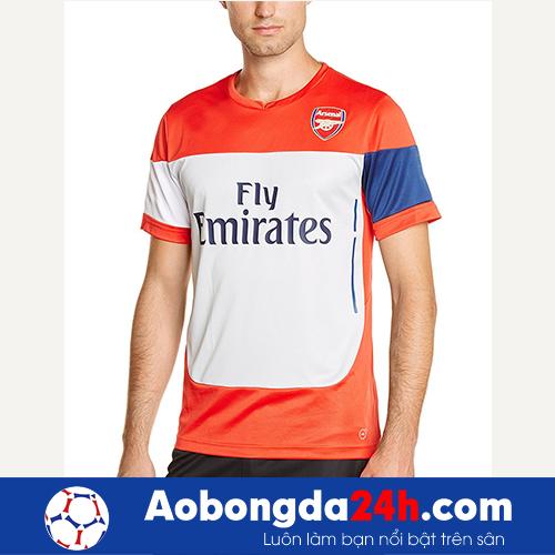 Áo Arsenal 2014 - 2015 áo tập màu đỏ