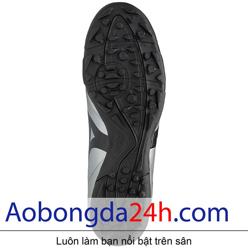 Đế giầy bóng đá Mizuno Monarcida 2 FS Bạc Đen