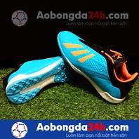 Giày bóng đá Mira 05 (MR05) đinh TF màu xanh ngọc