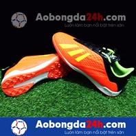 Giày đá bóng Mira 05 (MR05) đế đinh TF mà cam - chính hãng