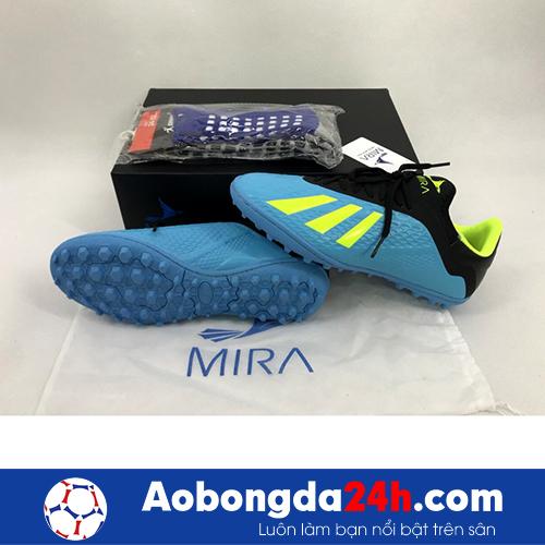 Giầy bóng đá Mira MR05 TF màu Xanh ngọc -3