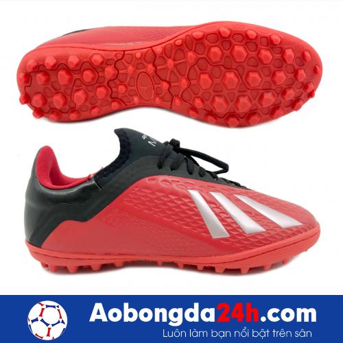 Giầy bóng đá Mira MR05 TF màu Đỏ -2