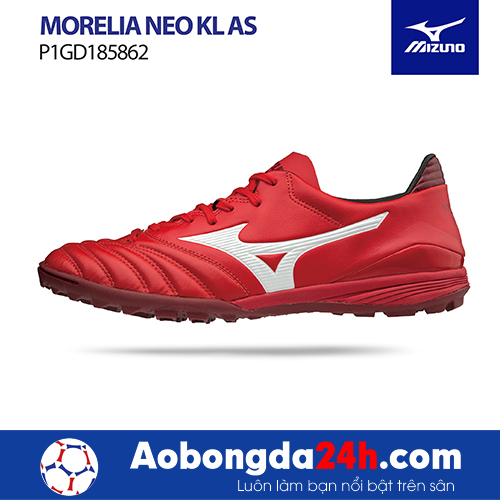 Giầy Mizuno Morelia Neo KL AS đỏ/trắng