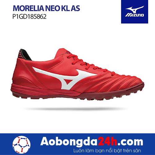 Giầy bóng đá Mizuno Morelia Neo KL AS đỏ trắng -4