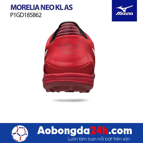 Giầy bóng đá Mizuno Morelia Neo KL AS đỏ trắng -5