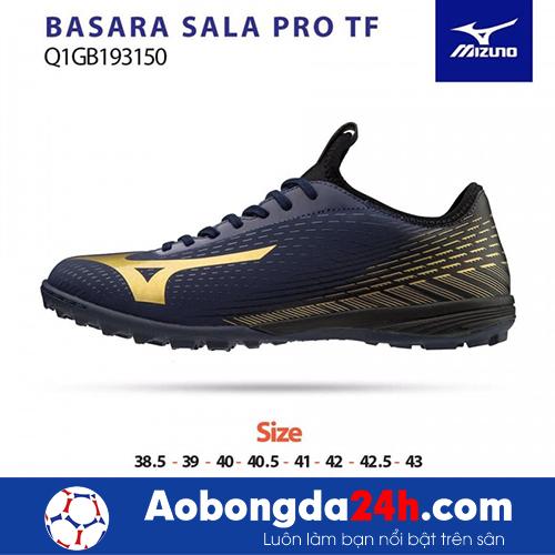 Giầy Mizuno Basara Sala Pro TF đen vàng
