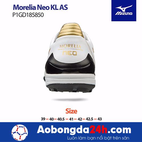 Giầy bóng đá Mizuno Morelia NEO KL AS màu Trắng -2