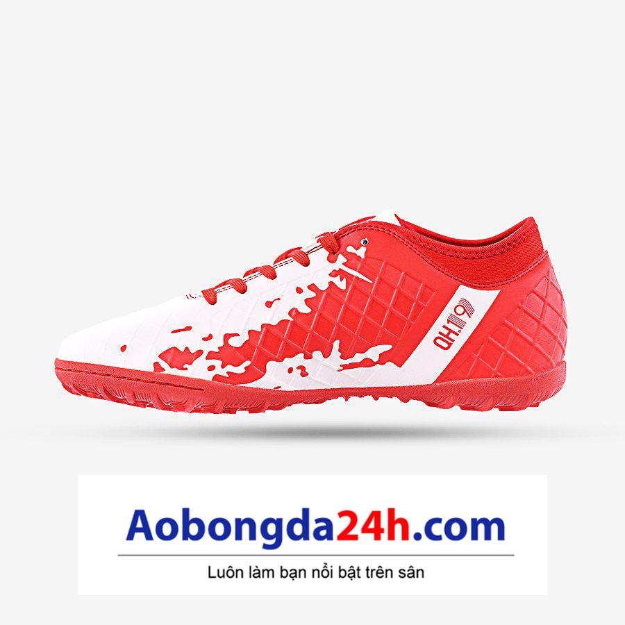 Giày bóng đá Kamito QH 19 màu đỏ trắng