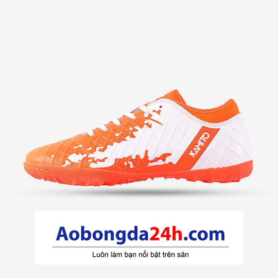 Giày Bóng Đá Kamito QH 19 - Màu cam trắng