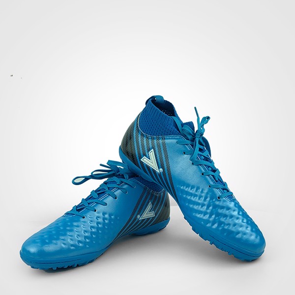 Giày đá bóng Mitre 170437 xanh dương cổ thun cao - 02