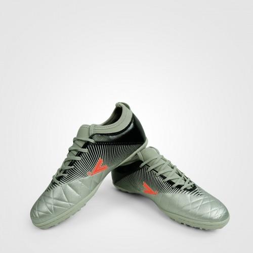 Giày đá bóng Mitre 161110 màu bạc cổ thấp mềm-1