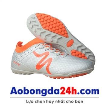 Giày bóng đá Mitre 160603 cổ cao màu bạc - 01
