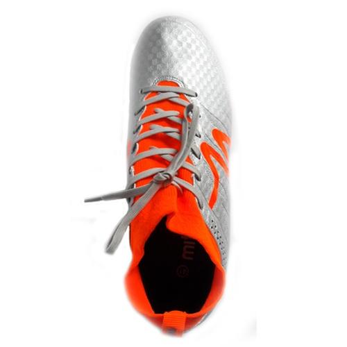 Giày bóng đá Mitre 160603 cổ cao màu bạc - 02