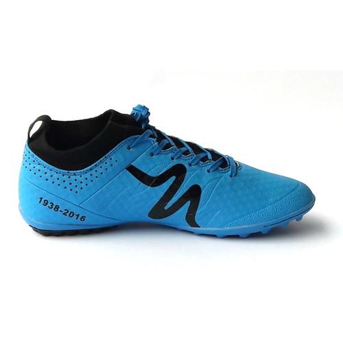 Giày đá bóng Mitre 160603 cổ cao đinh TF xanh da trời-02