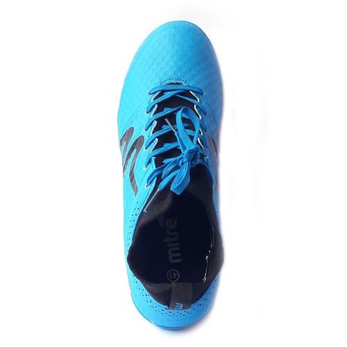 Giày đá bóng Mitre 160603 cổ cao đinh TF xanh da trời-03