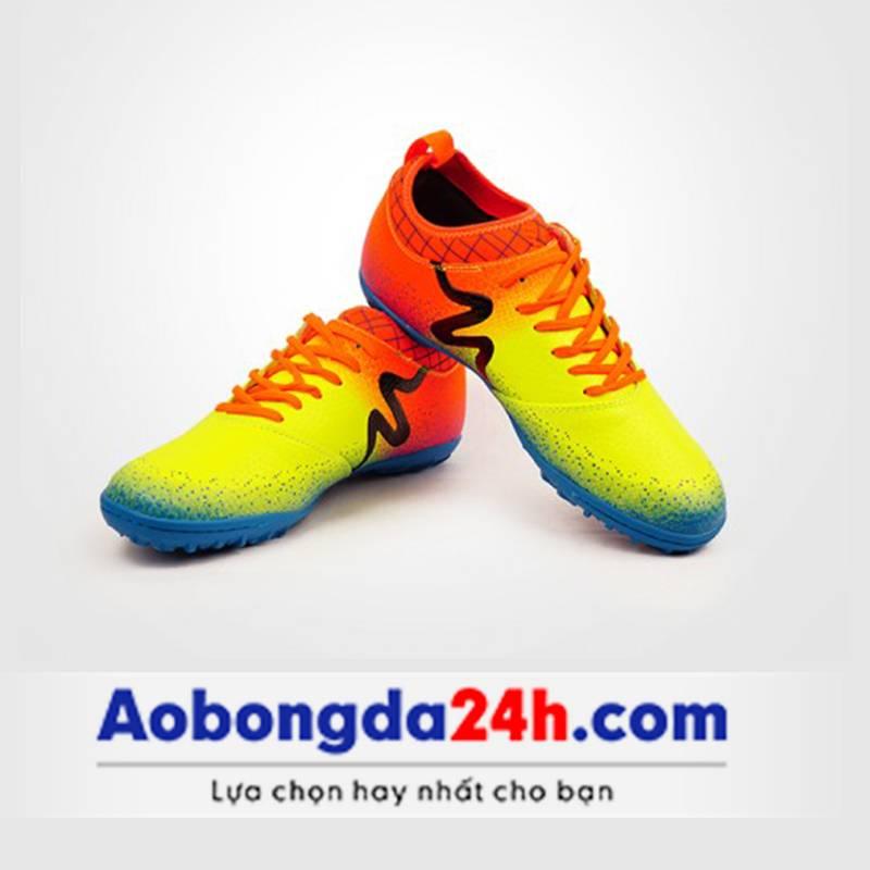 Giày bóng đá Mitre 161130 màu vàng-01