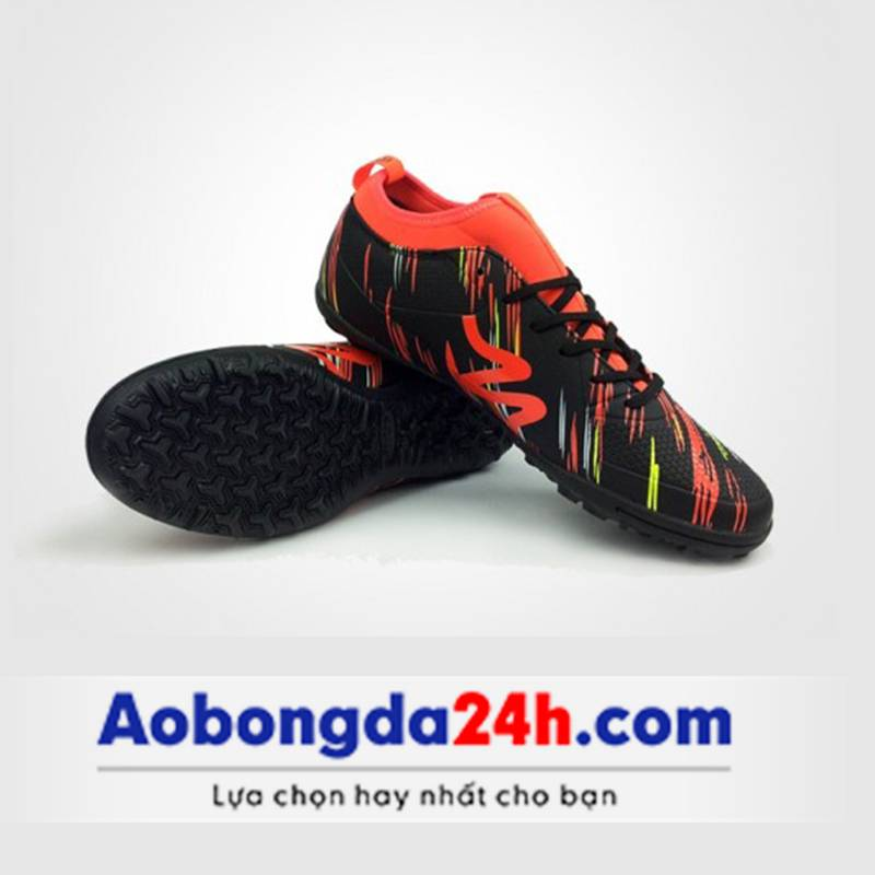 Giày Mitre 160930 màu đen đỏ-01