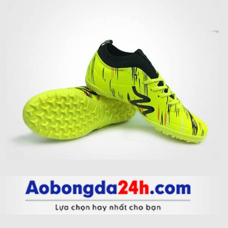 Giày bóng đá Mitre 160930 màu vàng cổ cao-01