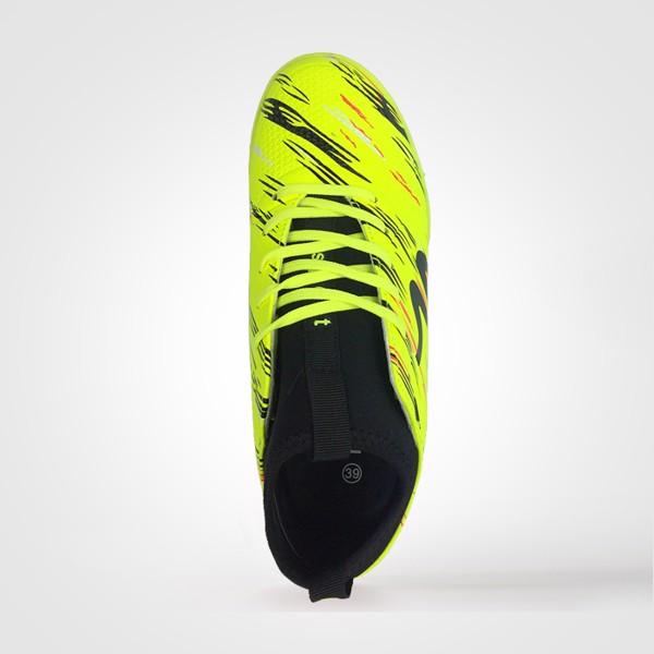 Giày bóng đá Mitre 160930 màu vàng cổ cao-02