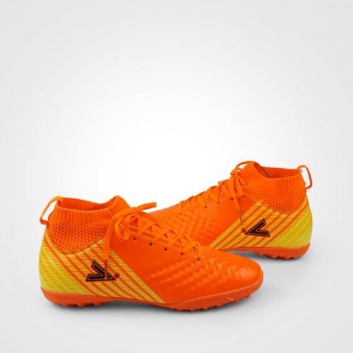 Giày đá bóng 170434 màu cam cổ cao 02
