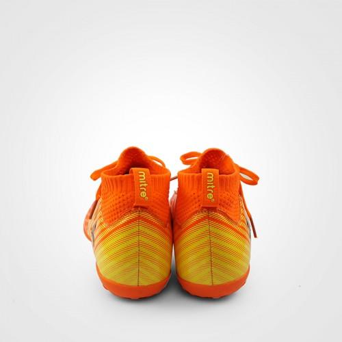 Giày đá bóng 170434 màu cam cổ cao 03