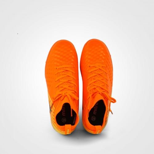 Giày đá bóng 170434 màu cam cổ cao 05