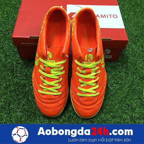 Giầy bóng đá Kamito Spada màu Cam mẫu 02 -2