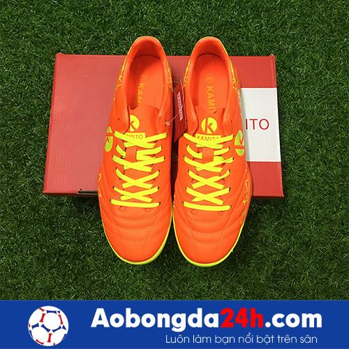 Giầy bóng đá Kamito Spada màu Cam mẫu 02 -4