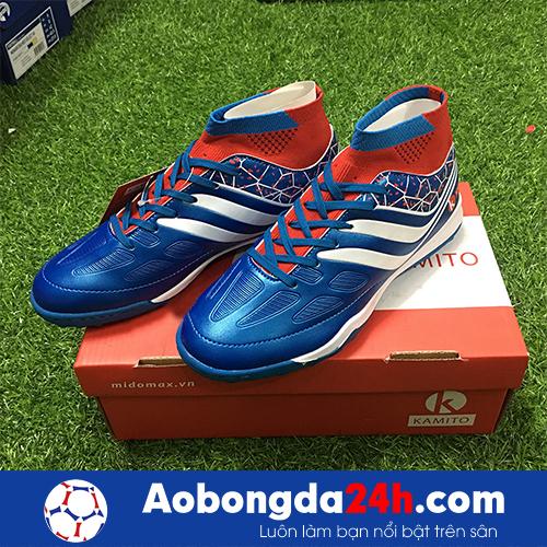 Giày bóng đá Kamito Cobra màu Xanh Dương Cổ cao -1