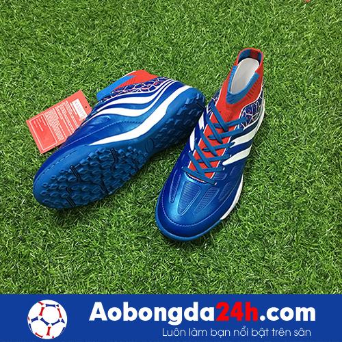 Giày bóng đá Kamito Cobra màu Xanh Dương Cổ cao -2