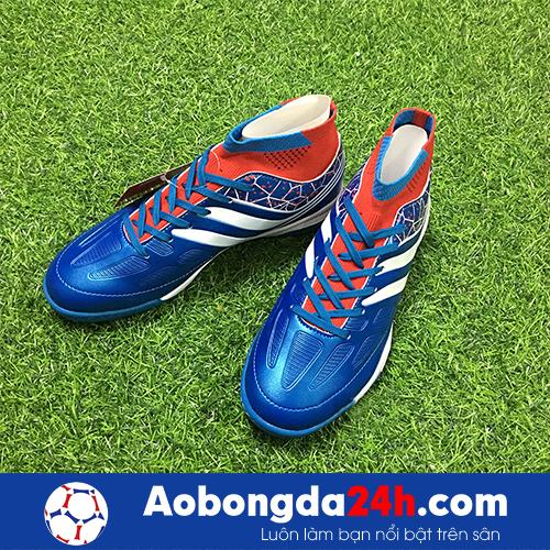 Giày bóng đá Kamito Cobra màu Xanh Dương Cổ cao -4