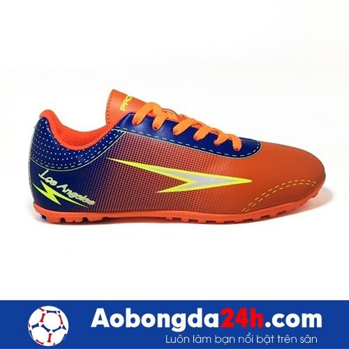 Giày đá bóng trẻ em Prowin Los Angeles Cam xanh