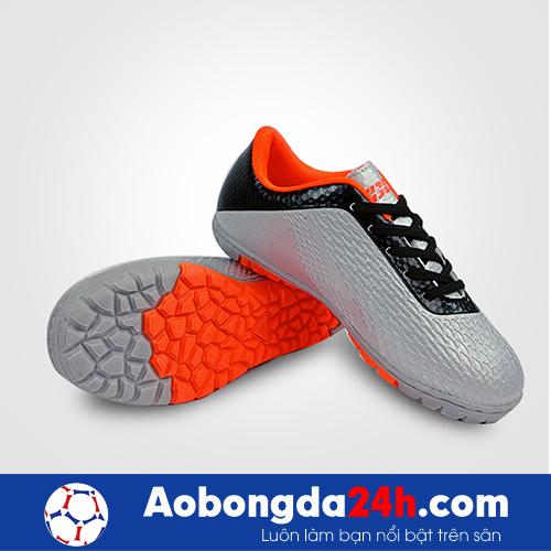 Giầy đá bóng trẻ em Ebet EB6302 màu Bạc 12