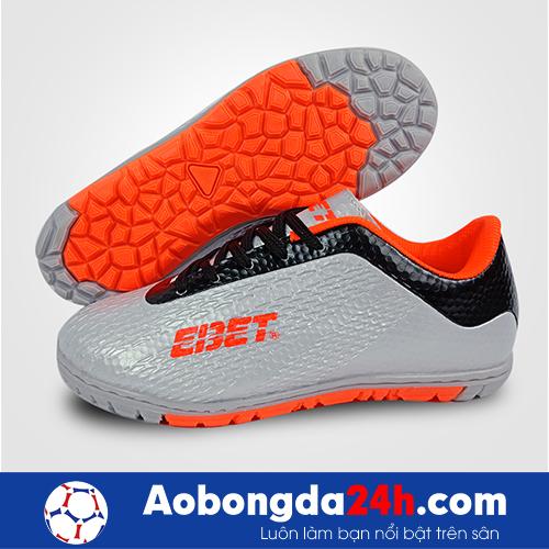 Giầy đá bóng trẻ em Ebet EB6302 màu Bạc 14