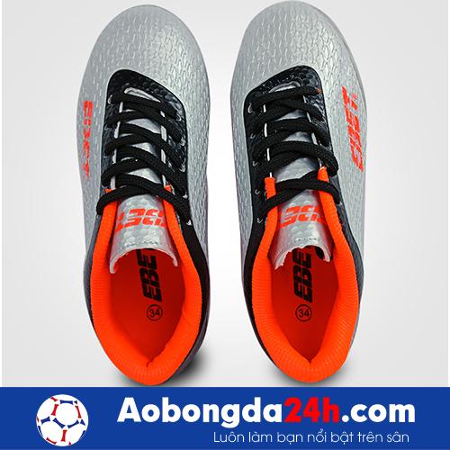 Giầy đá bóng trẻ em Ebet EB6302 màu Bạc 16
