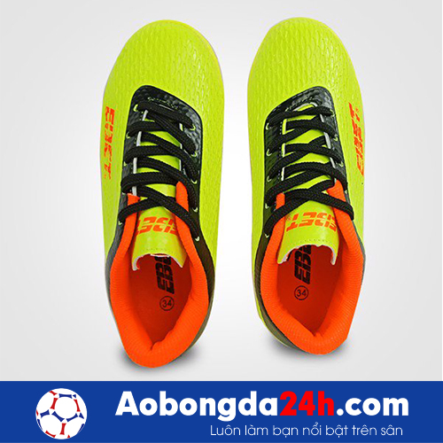 Giầy đá bóng trẻ em Ebet EB6302 màu Vàng 14