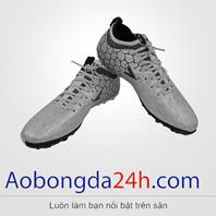 Giày đá bóng Mitre 181045 màu bạc cao cổ