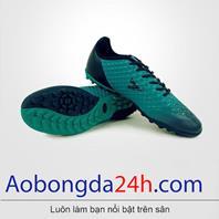 Giày đá bóng Mitre 180204B thấp cổ màu xanh ngọc