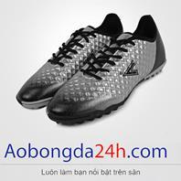 Giày đá bóng Mitre 180204B cổ thấp màu bạc