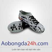 Giày đá bóng EBET trẻ em 6312 màu xám chính hãng Động Lực