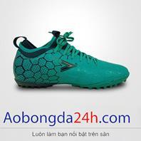 Giày đá bóng Mitre 181045 cao cổ màu xanh ngọc
