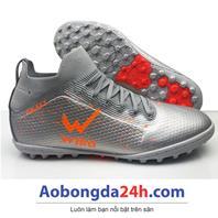 Giày đá bóng WIKA Galaxy màu Bạc chính hãng